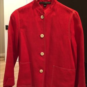 Red woman jacket